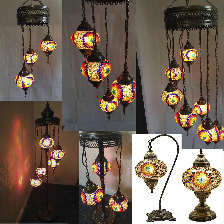 Turkish Moroccan Mosaic Light Tiffany Glass Desk Wall Floor Hanging Lamp Ebay