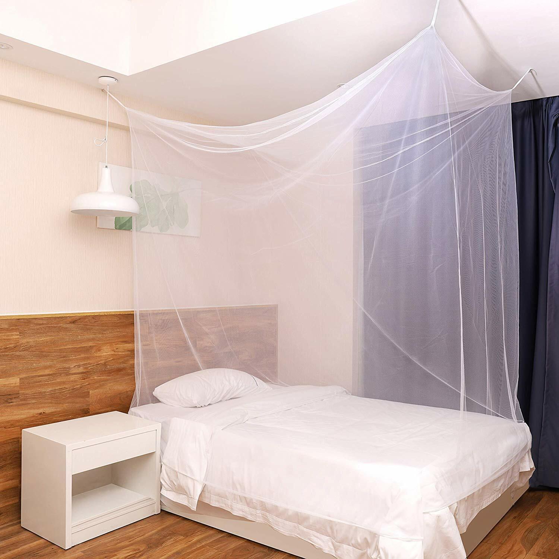 Reise Moskitonetz Insektenschutz Camping Mückennetz Fliegennetz Zelt Bett Netz