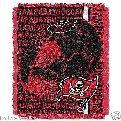"NFL Tampa Bay Buccaneers 48""x 60"" Triple Woven Jacquard Throw"