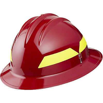 Red Hat Model Fh911h Bullard Wildland Fire Helmet With Self Sizing 6-point Su...