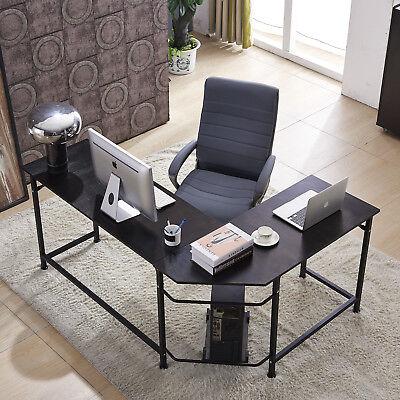 Office Desk L-shape Corner Computer Pc Latop Study Table Workstation Home Office