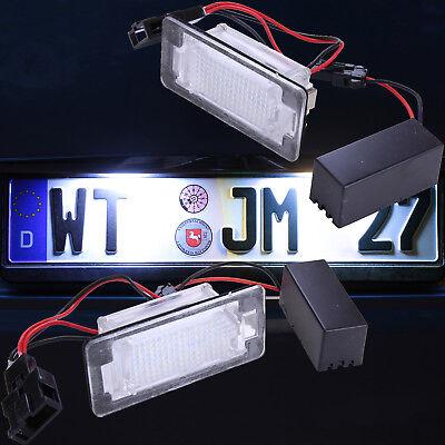 8 Wasserdichte Leder (LED Kennzeichenbeleuchtung für Audi A4 B8 A5 Q5 TT wasserdichte Version 7302)
