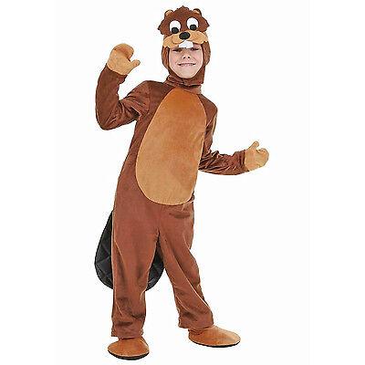 Cute Halloween Animal (Kids Cute Beaver Costume Animal Otters Cosplay Fancy Dress Halloween)