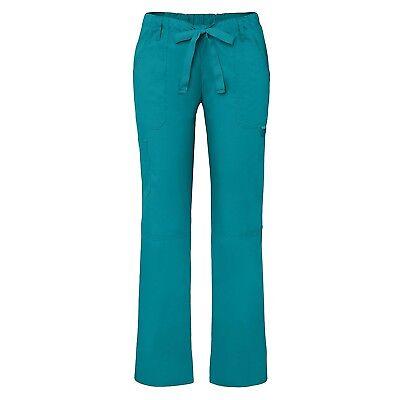 Low Rise Drawstring Pant - Adar Universal Womens Low-Rise Multipocket Drawstring Straight Leg Pants