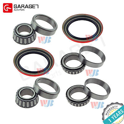 2pcsFront Wheel Bearing & Race&Seal Kit Assembly Fit Chevrolet S10 Pickup 4-Door