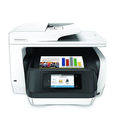 HP OfficeJet Pro 8720 Wireless All-in-One Photo Printer with Mobile Printing