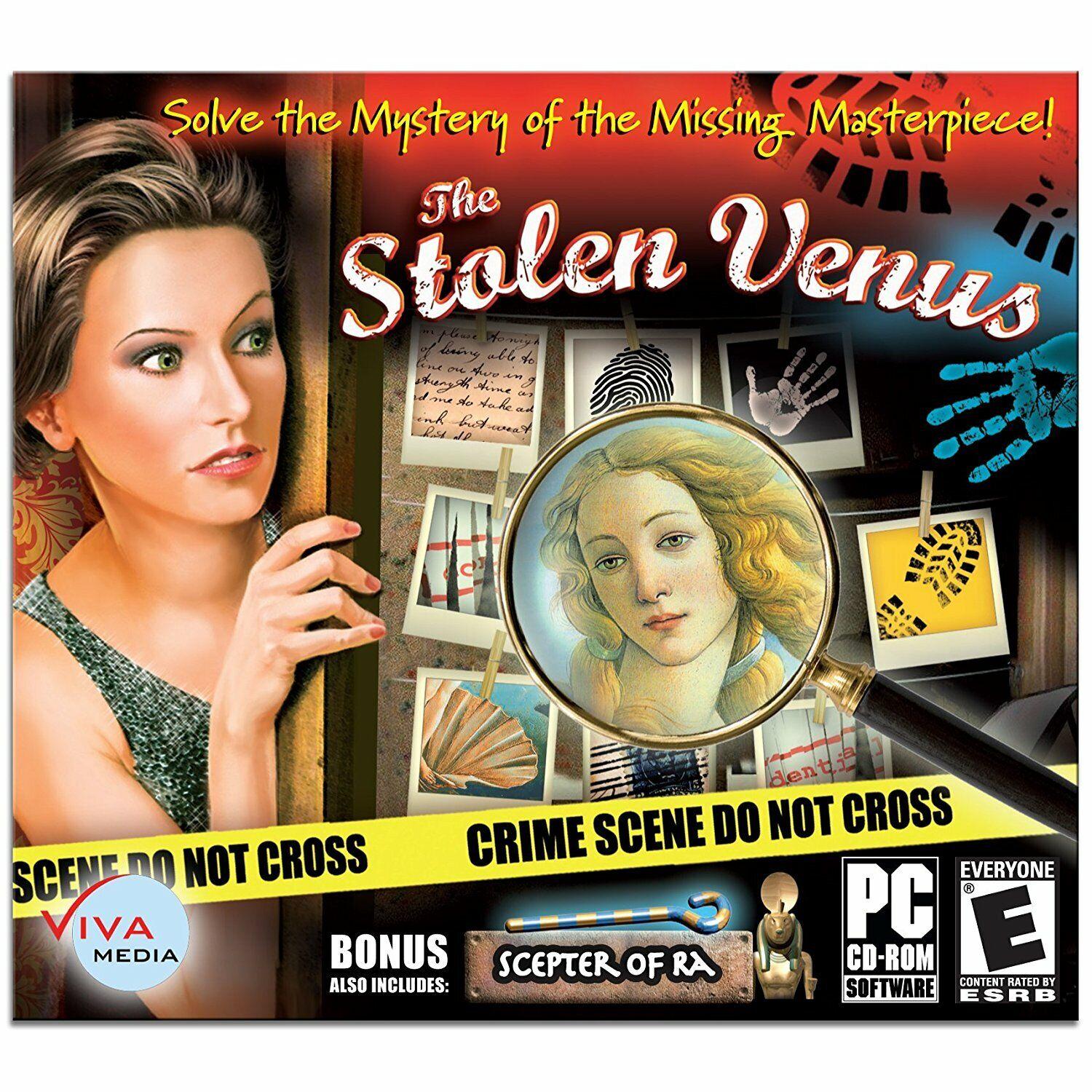 Computer Games - The Stolen Venus PC Games Windows 10 8 7 XP Computer hidden object mystery seek
