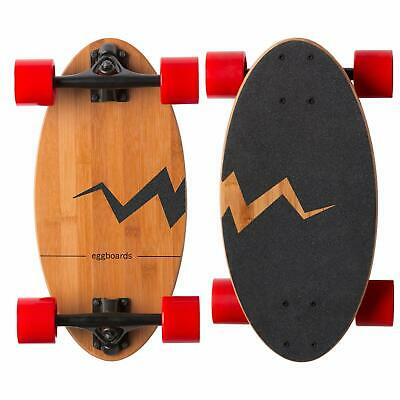 Eggboards Mini Longboard Cruiser Skateboard - The Original Complete Skateboard