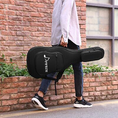 Donner 39 Inch Electric Guitar Gig Bag Backpack Soft Case Waterproof Cover Black 39 Inch Black Electric Guitar