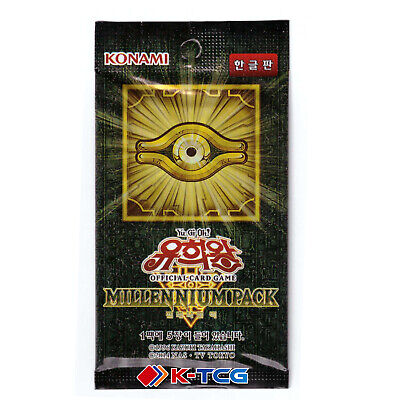 Korean Yugioh MP01-KR Millennium Pack Booster Pack