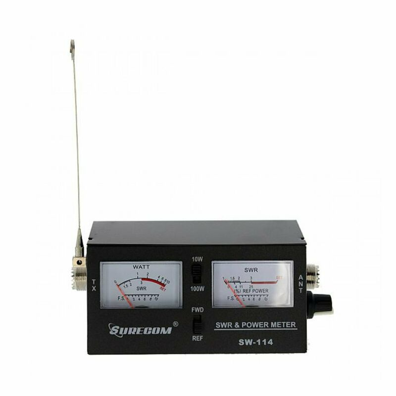 Surecom SW-114 SWR / RF / Field Strength Test Meter