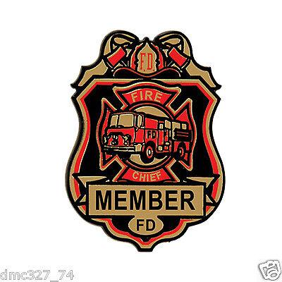 4 FIRE Dept Firefighter Fireman Themed Party Favors Plastic Fire Chief - Firefighter Party Favors