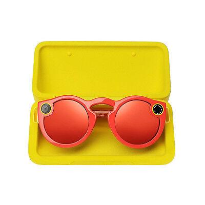 Spectacles for Snapchat Kamera Brille für Snapchat - Coral Fabrik versiegelt Box