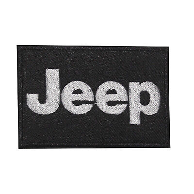 JEEP ,Luxury,Motor Sport Cars,Embroidered Patches,Iron On Patches,Sew On Badges