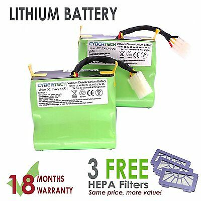 Long Life Replacement Lithium Ion Battery For Neato Xv Series With 3 Hepa Filter