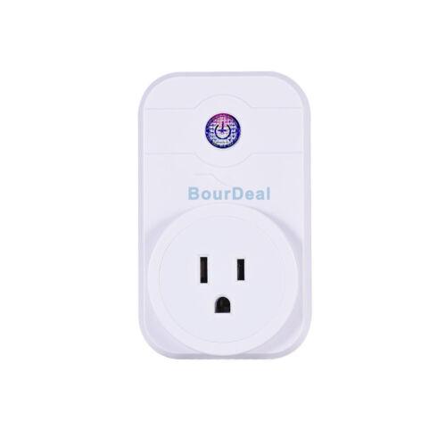 BourDeal Cellphone Remote Control Switch Elecric Wireless Smart Socket
