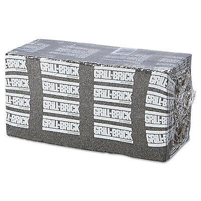 Boardwalk Grill Brick 8 x 4 Black 12/Carton GB12PC