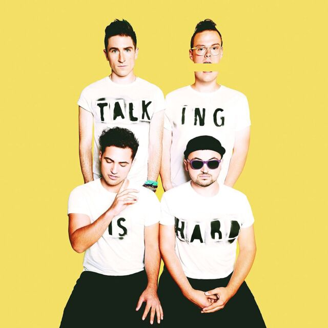 Walk The Moon  - Talking Is Hard - CD NEW & SEALED  2014