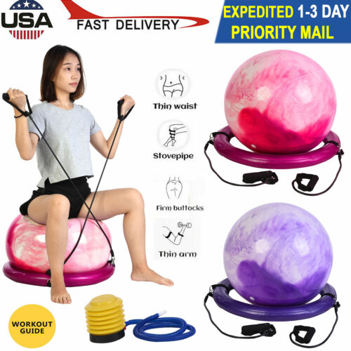 Anti Burst Gym Ball 65CM Exercise Swiss Pregnancy Fitness Bi