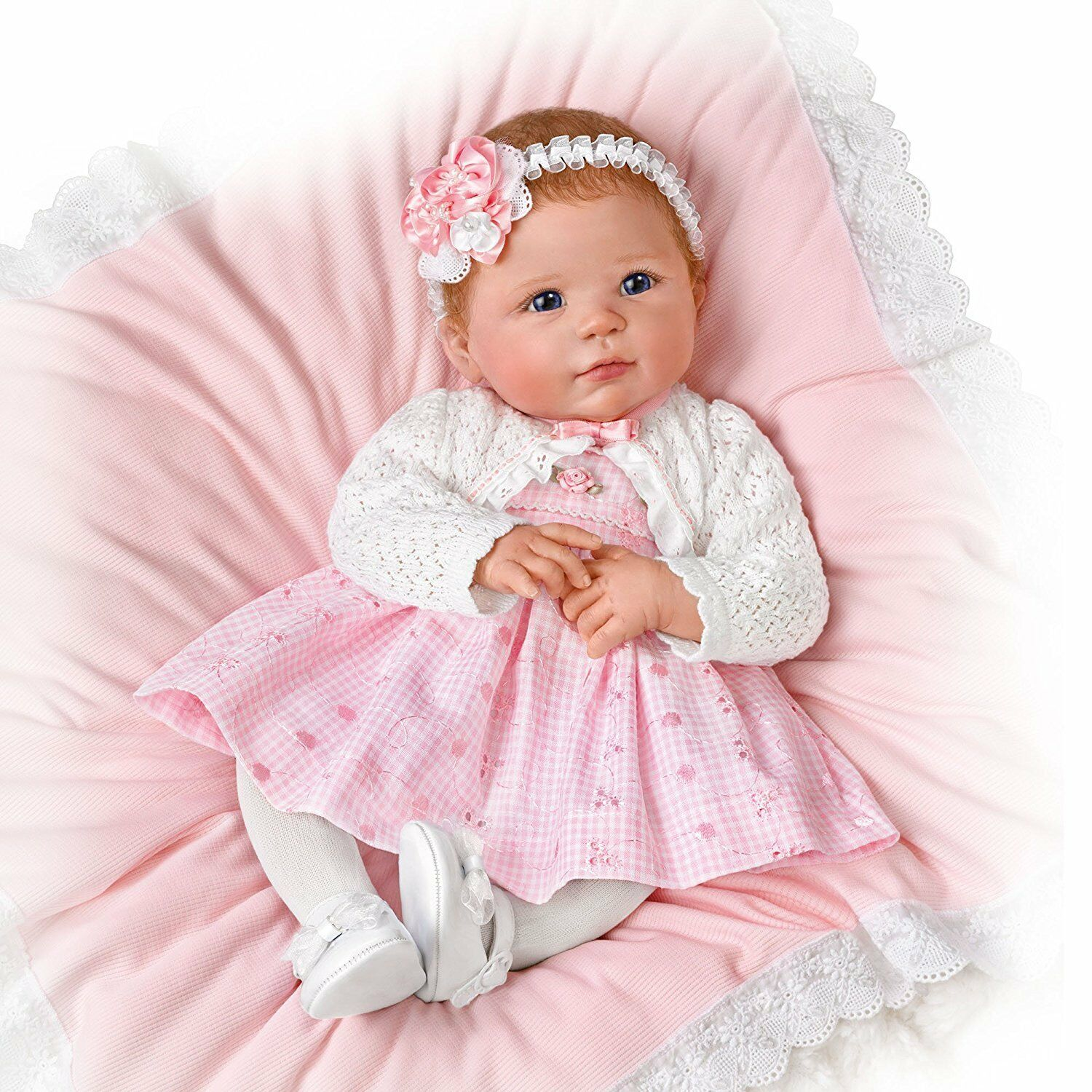 Ashton drake adorable amy 10th anniversary baby doll by for The ashton