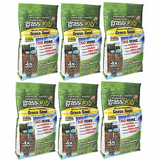 Grassology Grass Seed Ultra Low Maintenance Case of 6 3 lb Bags As Seen on TV