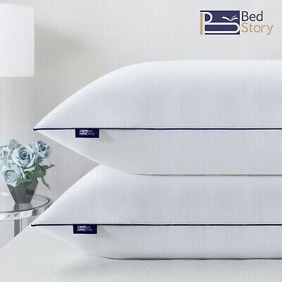 BedStory 2er Set Kopfkissen 80x80x22cm Hotel Kissen Microfaser 3000g CertiPUR-US
