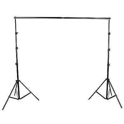 10ft x 7ft Photography Stand Studio Background Backdrop Drape Panel Photo Shoot