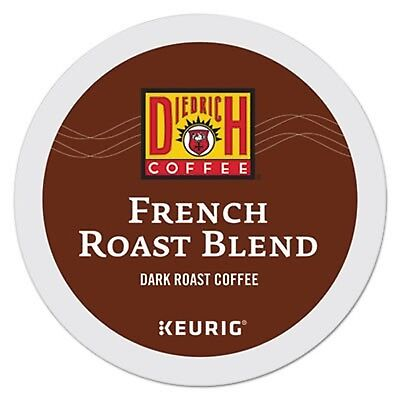 - Diedrich French Roast Blend Coffee Keurig K-cup pods (24 count)