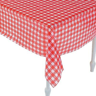 Red And White Checkered Tablecloths (52