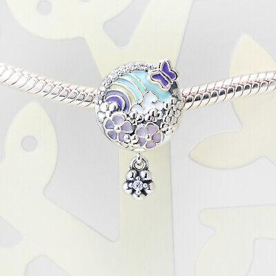 Authentic Pandora Charms 925 ALE Sterling Silver Mix Enamel Bracelet Bead Charm
