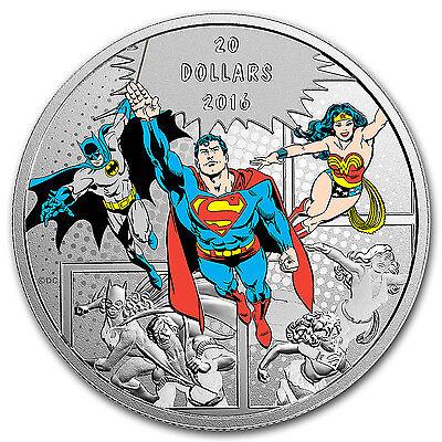2016 Canada Proof 1 oz Silver $20 Comics Originals: The Trinity - SKU #104088