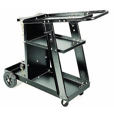 Steel Welding Cart Mig Machine Plasma Cutter Gas Tank Accessory Mobile Tool Tray