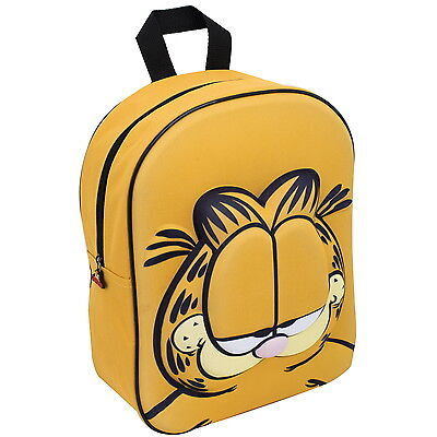 NEW OFFICIAL Garfield Boys Girls Kids 3D / EVA Backpack / Rucksack / School Bag