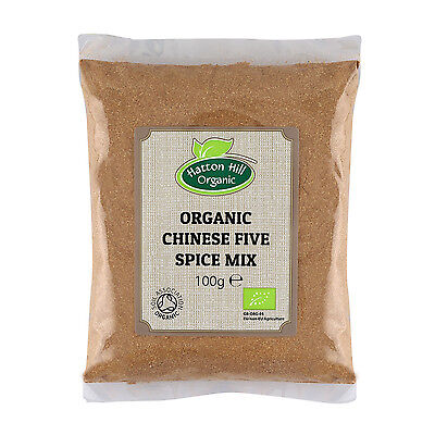 (Organic Chinese Five 5 Spice Powder 100g Certified Organic  )