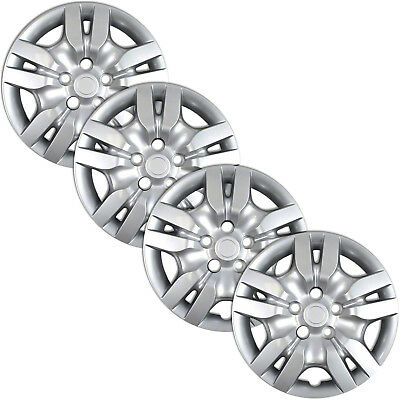 Set of 4 16in Bolt On Full Wheel Covers Rim Hubcaps for 2002-2012 Nissan -