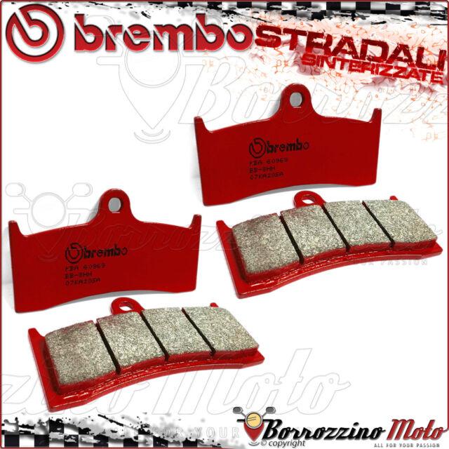 4 FRONT BRAKE PADS BREMBO SA RED SINTERED 07KA20SA MV AGUSTA BRUTALE 750 S 2001
