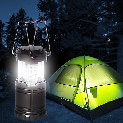 Tent Light 30 LED Camping Hiking Gear Equipment Outdoor Waterproof Portable Lamp