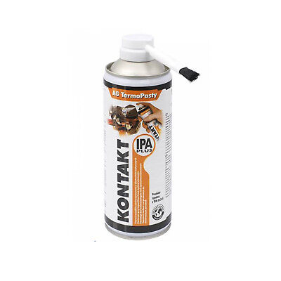 Kontakt IPA Plus Spray 400ml Entfetter Elektronikreiniger Lösungsmittel Bürste