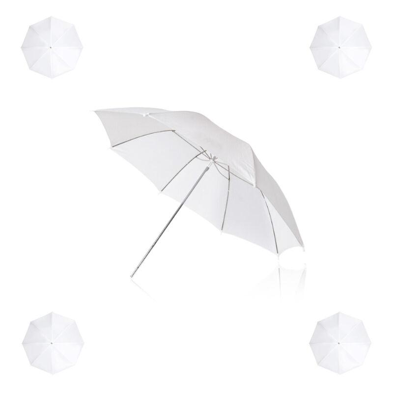"1Pack 33"" White Transparent Photo Umbrella Studio Reflector"