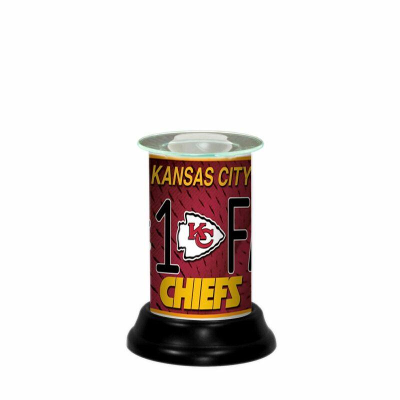 Kansas City Chiefs NFL Electric Fragrance Lamp/Tart Warmer/Wax Melter