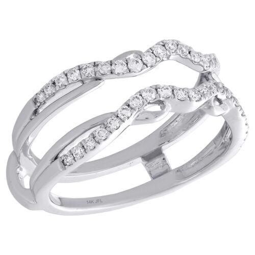 4 mm Halo Diamant Boucle d/'oreille Vestes 14K Or Jaune pour 1//4Ct de pierres