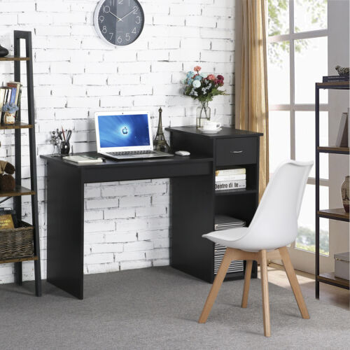 Computer Study Writing Desk Laptop Table Small Spaces with D