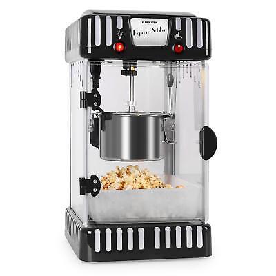 Popcornmaschine Popcornautomat Popcorn Maker Retro Kino Topf 300W Rürhwerk 60L
