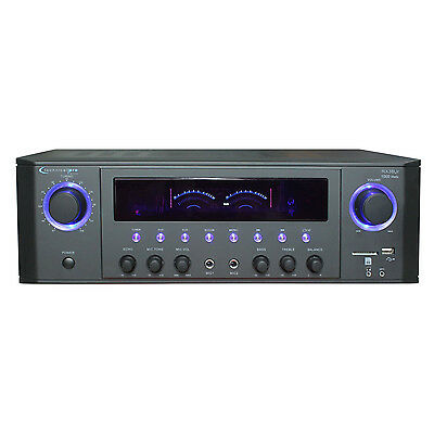 Technical Pro 1000W Professional Receiver with USB & SD Card Inputs | RX38UR