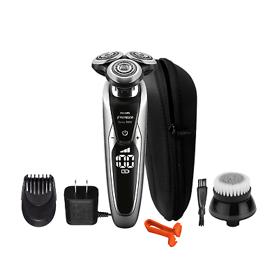 Philips Norelco 9000 Wet and Dry 9800 Shaver | S9731 | Warranty | w/o Box