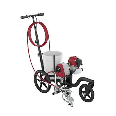 Titan Powrliner 850 Line Striper Machine For Asphalt Concrete Parking Striping