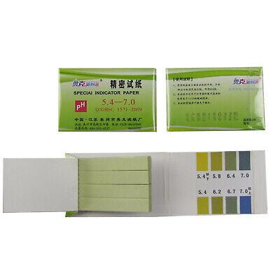 Precision Ph Indicatorph 5.4-7.0 Test Indicator Paper Litmus Strips10baglot