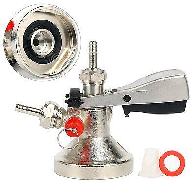Keg Tap System G Coupler Kegerator Ergonomic Lever Handle Wprobe Brass Body
