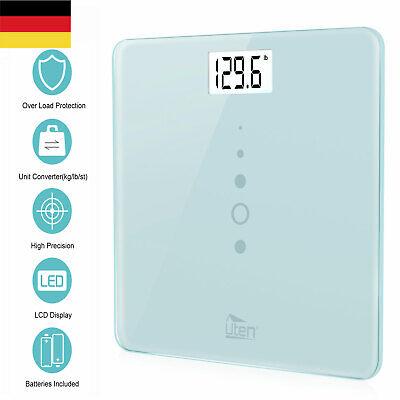 Badezimmer Waage (Uten LCD Display Digitale Personenwaage bis 200kg Analoge Badwaage Waage DE)