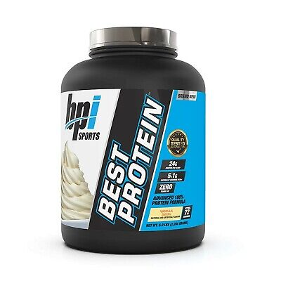 BPI Sports Best Protein For Men & Women Swirl, Vanilla, Vanilla Swirl, 5 Poun...